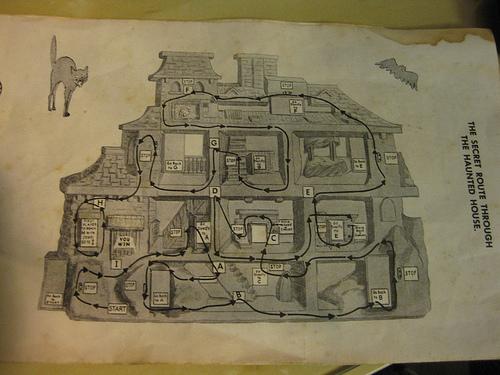 Haunted House Instruction Sheet