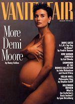 Vanity Fair Demi Moore Pregnant Cover