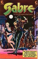 Sabre #2 from Eclipse Comics