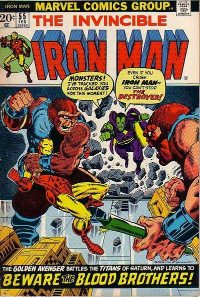 Iron Man Vol. 1 #55 from Marvel Comics