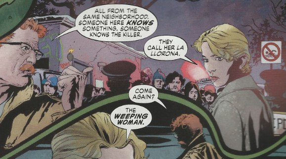 Mystery Woman in Batwoman #1 from DC Comics