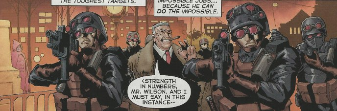 Mystery Woman's appearance in Deathstroke #1 from DC Comics