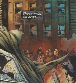 Mystery Woman's appearance in Detective Comics #1 from DC Comics