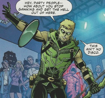 Mystery Woman shows up in Green Arrow #1 from DC Comics