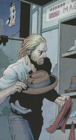 Mystery Woman shows up in Grifter #1 from DC Comics