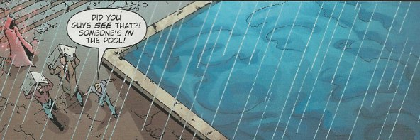 Mystery Woman sighting in Hawk and Dove #1 from DC Comics