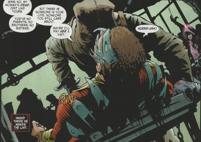 Mystery Woman appears in Suicide Squad #1 from DC Comics