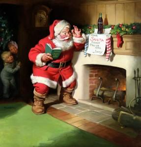Santa Claus circa 1930 - illustration by Haddon H Sundblom