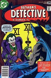 Detective Comics # 475
