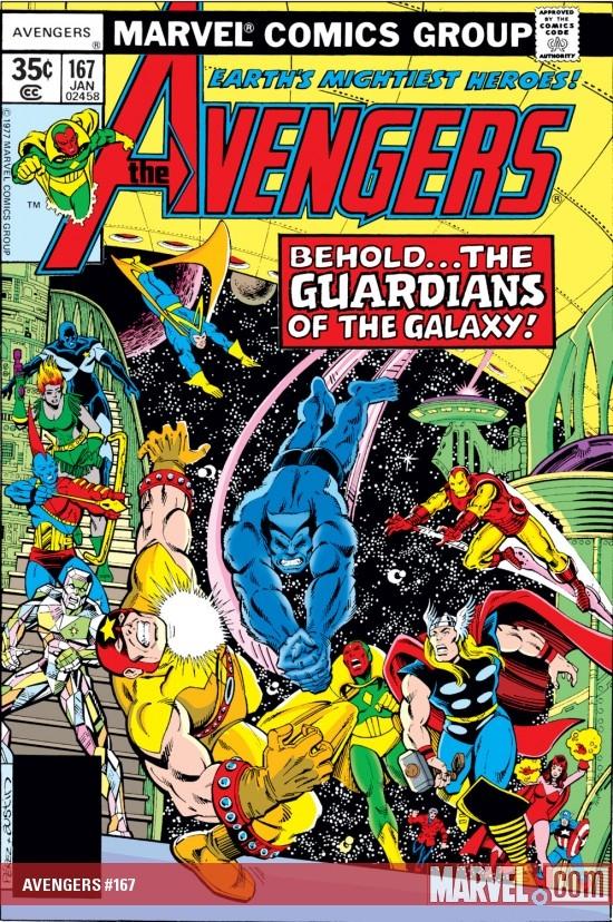 Avengers #167, 1977