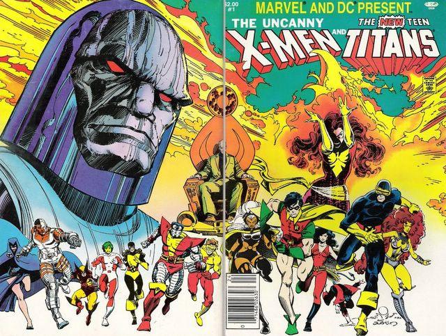 X-Men vs New Teen Titans, 1982