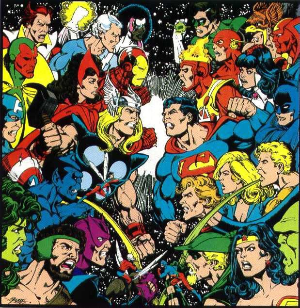 Avengers vs JLA, 1983 (unpublished)