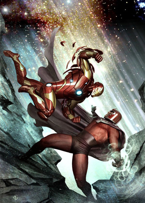 Avengers vs X-Men: Iron Man vs Magneto