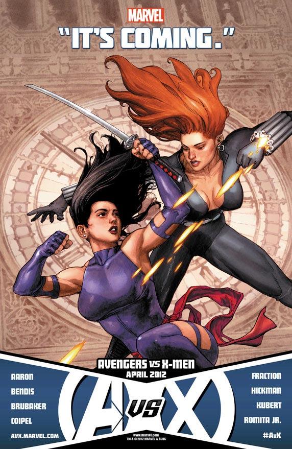 Avengers vs X-Men: Black Widow vs Psylocke
