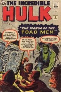 Incredible Hulk #2, 1962