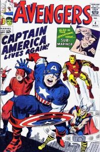 Avengers #4, 1964