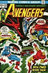 Avengers #111, 1973