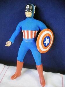 Mego Captain America Figure