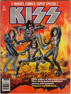 Marvel Comics Super Special #1, Featuring KISS (1977)