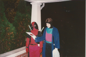 Deadpool and Gambit go Trick or Treating!