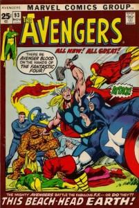 Avengers #93, 1972