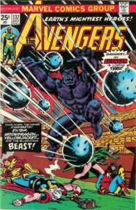 Avengers #137, 1975