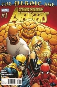 NEW New Avengers #1, 2010