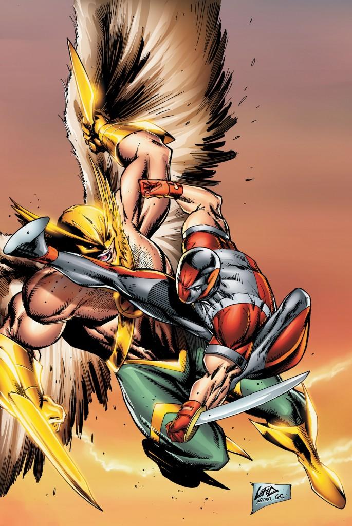 Savage Hawkman 12
