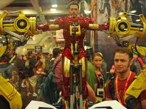 Sideshow Collectibles Statue from the Iron Man and Avengers movies.