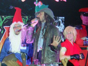Rob Zombie hosts a costume contest during Dawn of the Con at Petco Park.