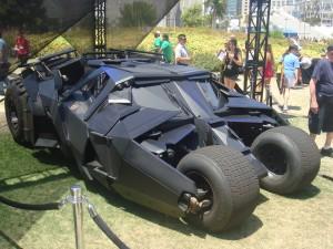 The Tumbler from Batman, The Dark Knight