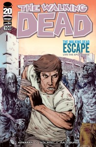 The Walking Dead #100; Walking Dead Escape variant cover by Matthew Roberts