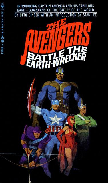 Avengers Battle the Earth-Wrecker