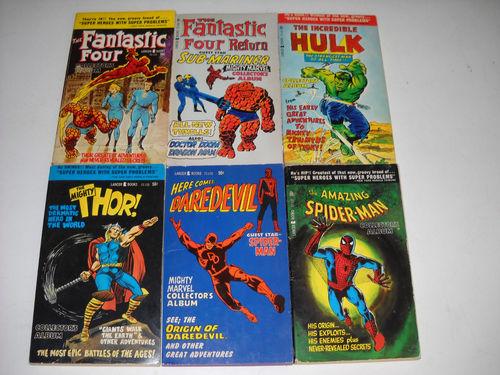 Lancer Marvel books