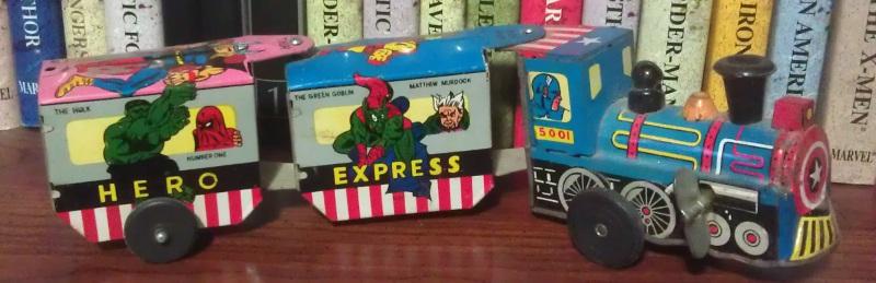 Marx Super Hero Express Train