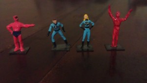 Fantastic Four Statues