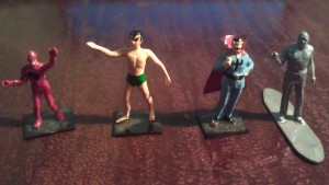 Marvel Heroes statues