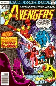 Avengers #168, 1977