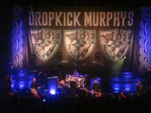 Dropkick Murphys, Fillmore Detroit, 9/18/12