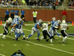 San Diego Chargers vs Detroit Lions, 2011