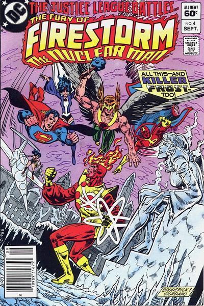 Firestorm # 4 Sept 1982