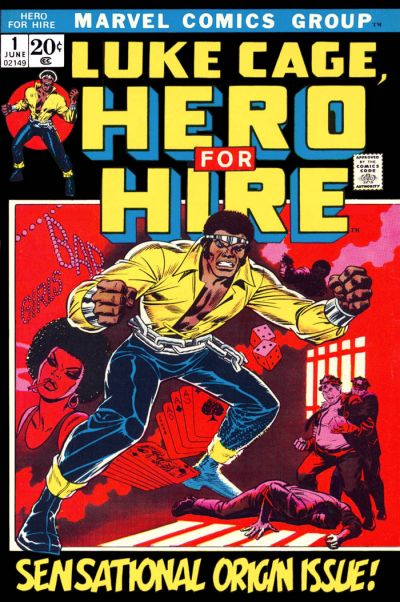 Luke Cage, Hero For Hire # 1