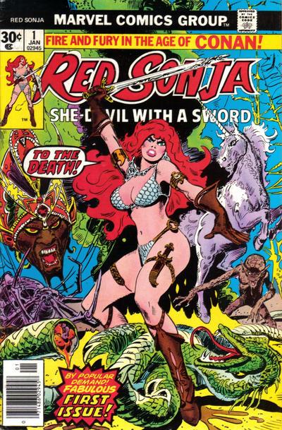 Red Sonja # 1