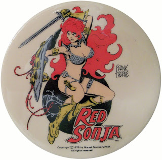 Red Sonja Button/Pinback