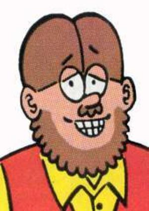 Fred Hembeck self portrait