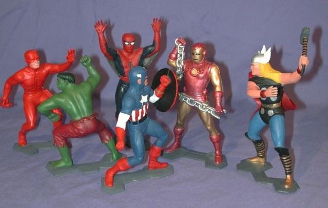 Marx Marvel Super Heroes