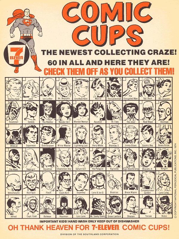 DC Slurpee cup check list