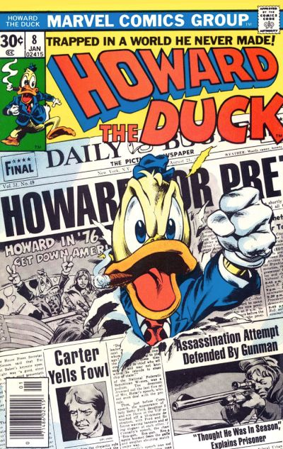 Howard the Duck # 8