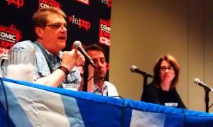 DC Comics 101 Panel; John Cunningham, Bob Harras, Bobbie Chase