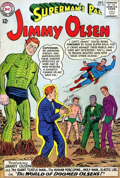 Jimmy Olsen # 72